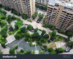 apartment landscape design. Simple Apartment Yard Of The Apartment Complex In China With Garden Landscape Architecture  And Pond Ganzhou In Apartment Landscape Design