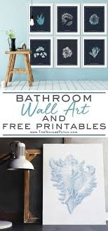 diy bathroom wall art pinterest