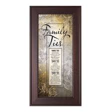 family ties framed print wall art photo museum store company on rectangular framed wall art with family ties framed print wall art inspirational motivational