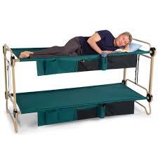 Folding Bunk Bed The Foldaway Adult Bunk Beds Hammacher Schlemmer