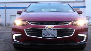 2016 Chevy Malibu Fog Light Kit 2016 Chevrolet Malibu Front End Headlamp Led Running Lamp Demonstration