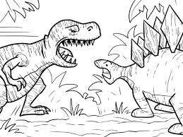 Small Picture Download Coloring Pages T Rex Coloring Page T Rex Coloring Page
