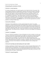 guide for extended essays in biology 5 5 guide for extended essays in biology