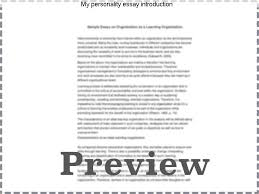 my personality essay introduction coursework writing service my personality essay introduction introduction to personality paper 1 introduction to personality paper by psy