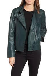 bernardo clean leather jacket regular petite