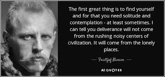 Fridtjof Nansen Quotes