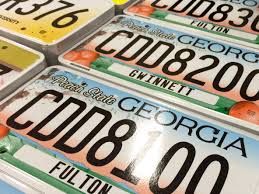 Georgia License Plates Designs Georgia License Plates Why So Many Designs Wabe 90 1 Fm