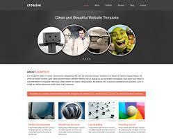 Psd Website Templates Free High Quality Designs Free Portfolio And Enterprise Website Psd Template Artistic