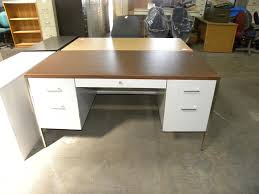 white walnut office furniture. Used Steelcase 30\ White Walnut Office Furniture M