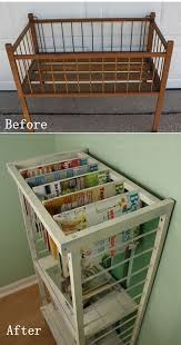 diy furniture makeovers from a small crib to stylish rack