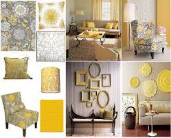 gray and yellow living room yellow