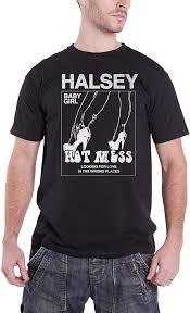Halsey T Shirt Baby Girl Hot Mess ...
