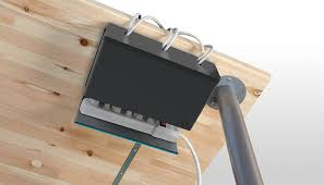 quirky plug hub under desk cord management co uk computers accessories