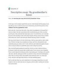 my late grandmother essay  my late grandmother essay my late grandmother essay