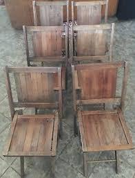 vtg 1940 50s simmons furniture metal medical. Set Of 6 Vintage Wood Simmons Company Kenosh Wisconsin Folding Slat Chairs Vtg 1940 50s Furniture Metal Medical E