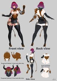 Character Design Contest 2018 Artstation Black Desert Online 2018 Costume Design Contest