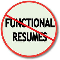 Career Changers Avoid Functional Resumes Resumepower