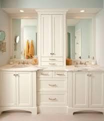 bathroom double sink cabinets. Double Vanity With Center Tower | Bathroom Sinks Sink Cabinets