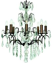 eight branch chandelier from the chandelier mirror company