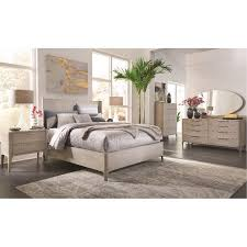 modern frosted ash 4 piece queen bedroom set alexandra rc willey furniture