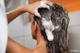 Image result for women washing their hair