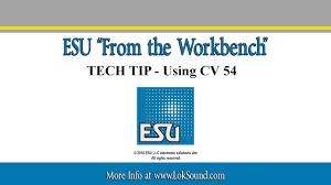 esu tech tip using cv 54 for auto adjusting bemf esu tech tip using cv 54 for auto adjusting bemf