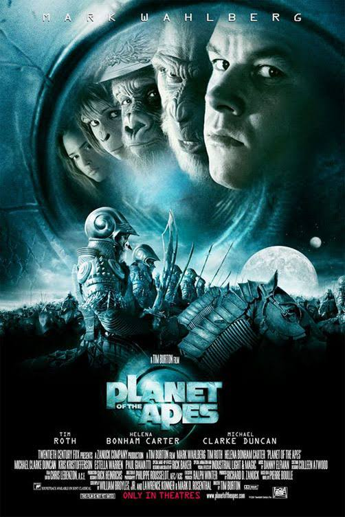 Download Planet of the Apes (2001) Full Movie In Hindi-English (Dual Audio) Bluray 480p [400MB] | 720p [850MB] | 1080p [4.4GB]