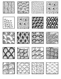 Zentangle Pattern Ideas Interesting Grid48 Fav Pinterest Zentangles Doodles And Patterns