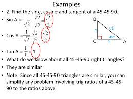 now that you know how to take sine cosine and tangent let s look at their reciprocals cotangent secant and cosecant the act math section may ask you to