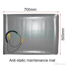 2019 70 50 diy gary desktop anti static esd grounding mat silicone pad with mayitr cord for phone pc laptop repair maintenance from then 13 36 dhgate