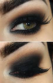 gorgeous black smokey eye