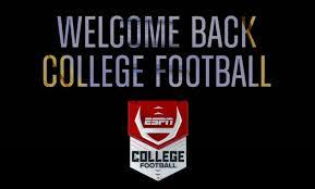 early season college football schedule