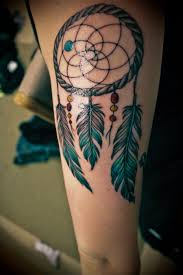 Dream Catcher Foot Tattoos Meaning and History of Dreamcatcher Tattoos InkDoneRight 76