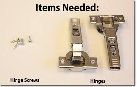 how to install cabinet door hinges. ready your hinges screws and cabinet doors how to install door t