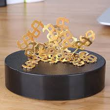generic creative stress relief desk toys magnetic diy desk sculpture decor fidget toy anxiety autism boredom intelligence development tool for office
