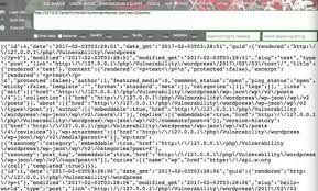 wordpress content injection