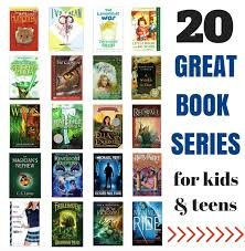 20 great book series for kids and s