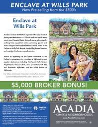 Incentive Flyer 23 Best Special Incentive Flyers From Acadia Homes Neighborhoods
