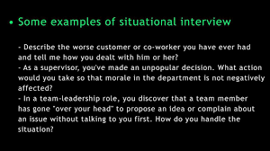 interview questions and answers situational interview questions and answers situational