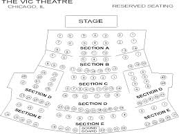 Young Vic Seating Chart Vic Theatre Seating Chart