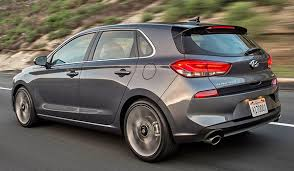 2018 hyundai i30. contemporary 2018 here is the us version of elantra gt i must say a nice looking  hatchback especially from that angle that big front chrome grille really  throughout 2018 hyundai i30