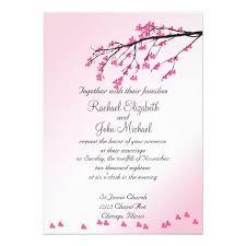 22 best wedding invitations images on pinterest wedding Michael Kors Wedding Invitations pink cherry blossom wedding invitation Walmart Wedding Invitations
