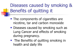 persuasive speech slices 6 diseases caused by smoking benefits of quitting