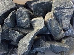 Large decorative rocks Lava Large Trap Rock Zillges Landscaping Zillges Spa Landscape Fireplace