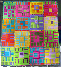 136 best Striped fabric quilts images on Pinterest | Quilt block ... & From Fibermania: QAYG Gallery of Quilts, by Melody Johnson Adamdwight.com