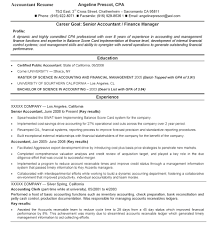 Best Accounting Resume Browse Accountant Resume Template Accounting Resume Format Resume 1