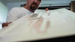 gloss paint on kitchen cabinet
