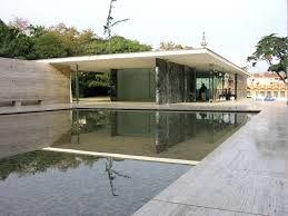Can you believe this Barcelona Pavillion was designed and built in 1929?  The architect Mies