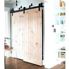 sliding closet door rough opening double door closet barn door closet por ship from antique byp