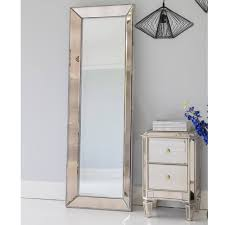 mirrored bedside table. mirror table · side mirrored bedside